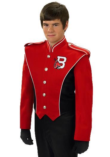 DeMoulin 2008-12B marchingband uniforms
