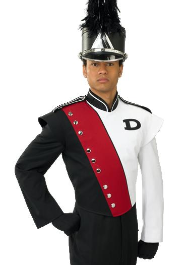 DeMoulin 2008-16A showband uniformen