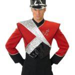 DeMoulin 2008-18A marchingband uniformen