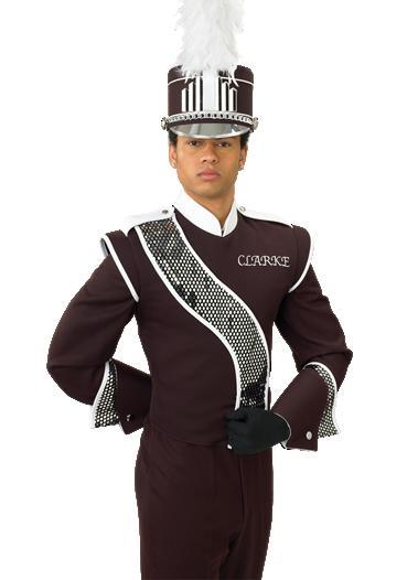 DeMoulin 2008-21C marchingband uniform