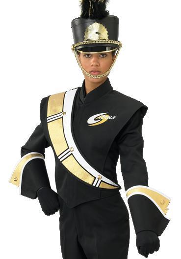 DeMoulin 2008-9E marchngband uniformen