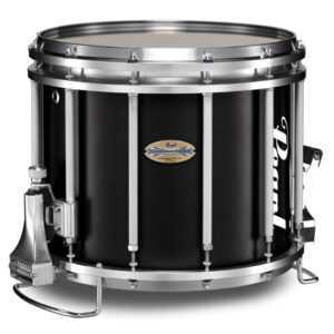 Pearl carbon marching snaredrum