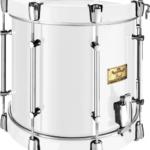 single-snare-viscount-drum-White