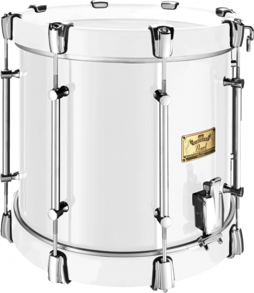 single-snare-viscount-drum-White