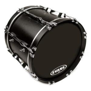 Evans MX Black bassdrum vellen