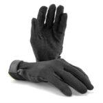 Zwart velcro deluxe handschoenen