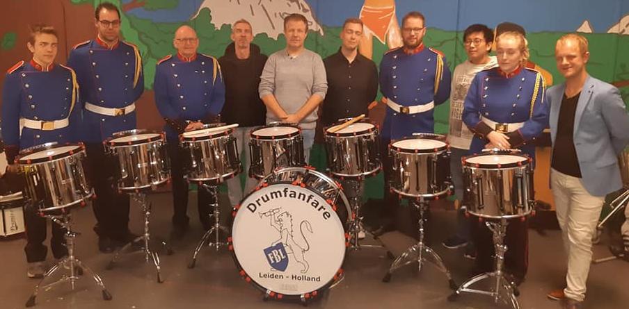 Drumfanfare FBL slagwerk Majestic