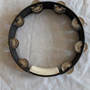 Gebruikte tambourijn zwart