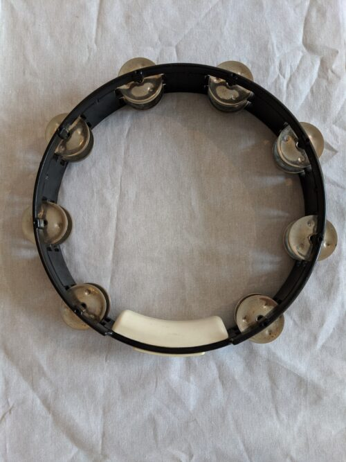 True Color Tambourine black