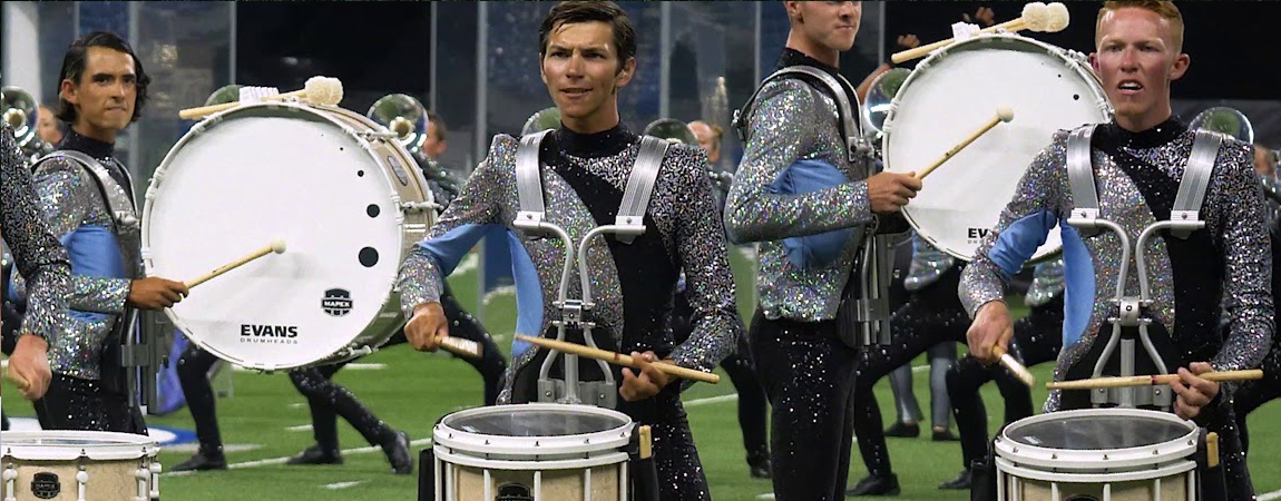 Majestic Mapex marching percussion