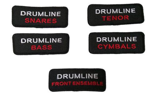 Badge corpsjacket drumline ready