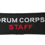 Badge corpsjacket staff ready