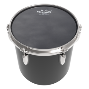 6 inch black remo marching drumhead