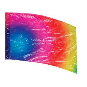 Performance colorguard flag