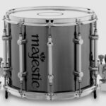Majestic XHC 13×11 marching snaredrum chroom