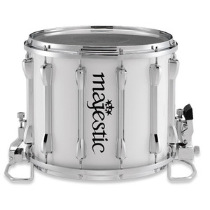 Majestic XHC 14×12 marching snaredrum wit