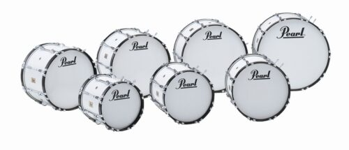 Pearl CMB Competitor marching bassdrums