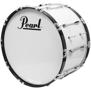Pearl Competitor marching bassdrum wit