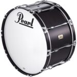 Pearl Competitor marching bassdrum zwart