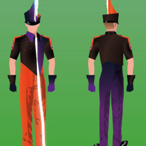 Indoorpercussion costumes