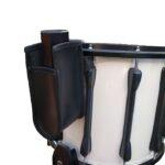 Shaker tas op snaredrum